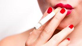Kouření způsobuje deprese.