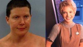 Ukázala prsa a křičela »Vůůůhůů«! Hvězdu Star Treku zatkli za obnažování před dětmi