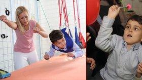 Unesený Ashya, který v Česku porazil rakovinu: Po operaci mozku je levák