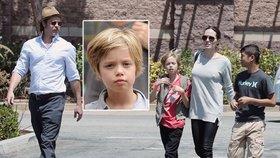 Jolie a Pitt: Budou mít z dcery syna? Kvůli Shiloh už obcházejí odborníky