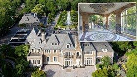 Pohádkové sídlo za 2 miliardy je na prodej. Bývalý majitel, původně taxikář, totiž zemřel