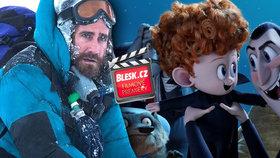 Čtvrteční filmové premiéry: Nasmějeme se v Hotelu Transylvánie, pak ale úsměvy zmrznou na Everestu