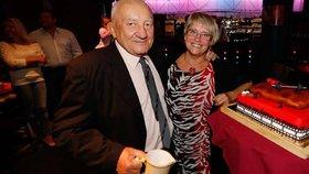 Smutek na oslavě Zdeňka Srstky: Rakovina si vzala tátu nás všech