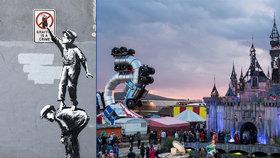 Banksyho výstava přilákala do anglického města 150.000 turistů