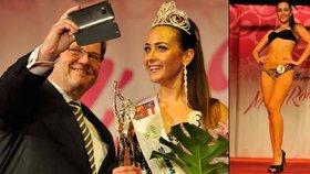 Škromachovo selfie s romskou kráskou: Miss Roma si politik nenechal ujít