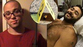 Šílenému střelci se postavil hrdinný student. Zachránil spolužáky, ale schytal pět kulek