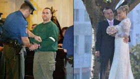 Gangster Berdych zase přišel o svobodu: Oženil se s dívkou, která na něj čekala 11 let!