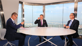 """Babiš se """"chytl"""" s Moravcem. """"Jste zaujatý,"""" tvrdí politik. Televize to odmítá"""