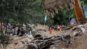 Ničivé lijáky v Guatemale: Přes 130 lidí zemřelo, stovky hledají záchranáři