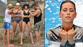 Zpěvačka Gemrotová s modelkou Votavovou: Společně se předvedly v sexy kalendáři
