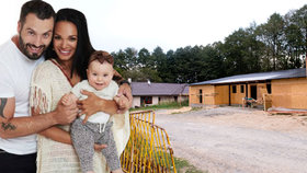 Noid Bárta staví pro rodinu dřevěný dům: Za pouhých 800 tisíc prý budou ve vlastním!