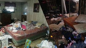Moč, výkaly a plíseň: Z louisianského domu hrůzy zachránila policie batole, papouška a 17 psů!