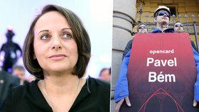Krnáčová: Praha by se měla domáhat stamilionů za Opencard
