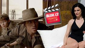 Čtvrteční filmové premiéry: Očaruje nás Peter Pan a také krásná Rachel Weisz