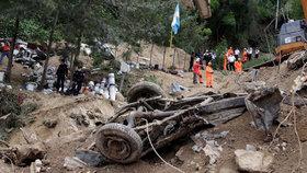 Obrovský sesuv půdy v Guatemale: Nejméně 264 mrtvých a 40 pohřešovaných!
