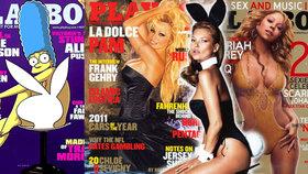 Konec nahoty v Playboyi: Mrkněte se na sexy krásky, které se pro magazín dříve svlékaly