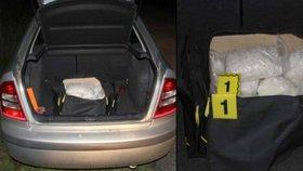 Muž ujížděl policii s pervitinem, drogy měly hodnotu 10 milionů