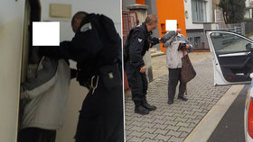 Strážníci z Boleslavi za vyčerpaného seniora udělali ve svém volnu nákup, na který pán už neměl síly