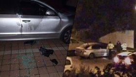 Policisté chytili vykrádače aut v Praze přímo při činu: Sháněl peníze na drogy