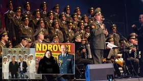 Ruským armádním pěvcům tleskala první dáma i poslanci Huml a Foldyna