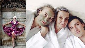 11 neuvěřitelných proměn Evy Holubové! Podívejte se, jak vidí sama sebe!