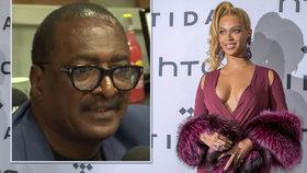 Beyoncé lže o svém věku, odhalil její otec