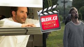 Čtvrteční filmové premiéry: Bradley Cooper uvaří, jak nejlépe umí, a s českými herci se ztratíme v Mnichově