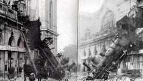 120 let od šílené nehody: Padající lokomotiva zabila jednoho člověka