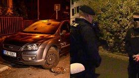 Jak řídí ministrův kuchař? 2,5 promile, tři nabořená auta a pozvracené policejní auto