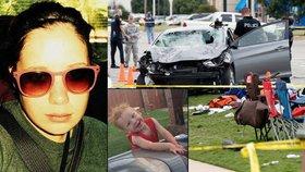Opilá řidička najela autem do davu, při nehodě zemřel i dvouletý chlapec