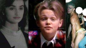 Celebrity, když je ještě nikdo neznal: Striptér Channing Tatum s holým zadkem nebo DiCaprio v reklamě na žvýkačky