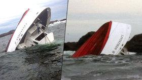 U Kanady se potopila loď: Na palubě bylo 27 lidí, nejméně pět zemřelo