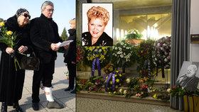 Harapes pohřbil Felliniho českou múzu: Baletní mistr přišel k rakvi se zraněnou nohou