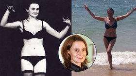 Eva Holubová svlečená před 30 lety a dnes. Vidíte rozdíl? My ne!