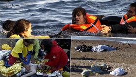 31 uprchlických dětí se během víkendu utopilo v Egejském moři. Mezi nimi kojenci