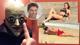 Jágr a jeho holky: Jak slavili Halloween? A kdo měl nejšílenější masku?