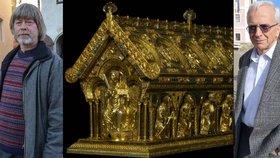 30 let od historického nálezu v Bečově nad Teplou. O relikviáři jsem neměl ani potuchy, vzpomíná bývalý kastelán