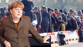 Merkelová tlačí na Řeky: Migranty od vás nepřijmeme, naznačila