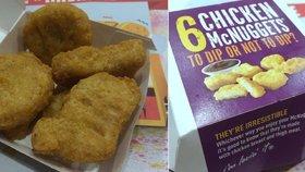 Co jíte v Chicken McNuggets: Náhražku benzinu nebo hnojivo!