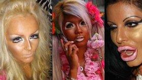 Nejšílenější make-upy světa: Tyhle dámy šláply opravdu vedle