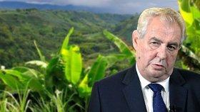 Zeman bude dobývat Latinskou Ameriku, zavítá do Kolumbie nebo Brazílie