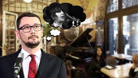 Ovčáček se chystá na pražskou kavárnu. Kvůli soutěži o nejlepšího pianistu