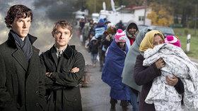Sprosté nadávky politikům: Hvězda seriálu Sherlock zuří kvůli uprchlíkům