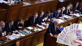 Politici dostanou přidáno: K Zemanovi míří navíc 14 300, polepší si i poslanci