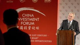 Čínské fórum na Hrad přiláká 500 hostů z 15 zemí. Zeman dorazí na galavečer