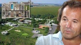 Apokalyptická pevnost pro miliardáře v Česku: Bezpečnost boháčů řídí Andor Šándor