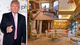 Donald Trump ukázal, kde žije: Luxus je slabé slovo!