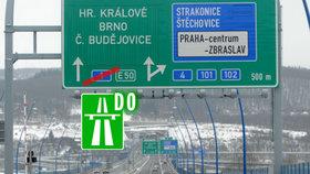 16386b9933b Kolem Prahy po D0. Nové značení čeká Pražský okruh i další silnice v Česku