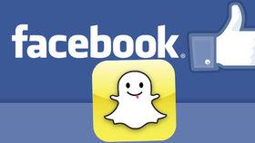 Facebook útočí na Snapchat: Zkouší zprávy, které se za hodinu smažou