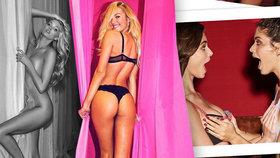 Andílci Victoria's Secret se utrhli ze řetězu: Divoké hrátky v zákulisí